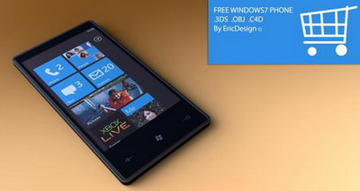 windows7 mobile phone 3D��with maps��
