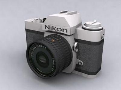 Digital Nikon Camera 3DsMax Model