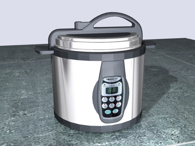 3D Model Of Rice Cookers
