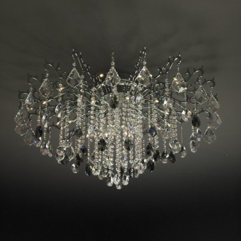 3D model of European classical crystal chandeliers