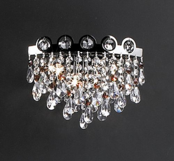 European fashion crystal chandeliers 3D model