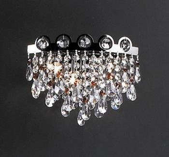 European fashion crystal chandeliers 3D model