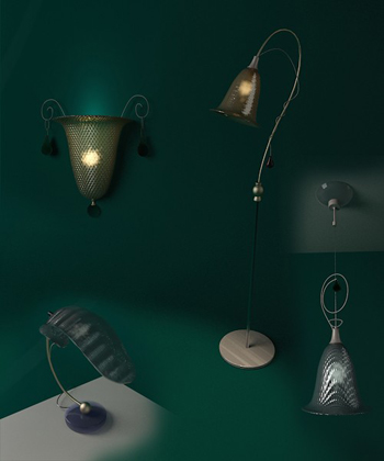European-style Wall Lamps 3D Model