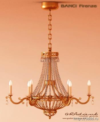 Metal chain European-style chandeliers