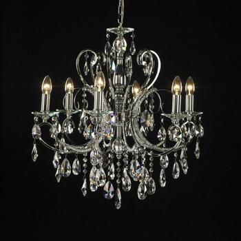Luxury crystal pendent lamp