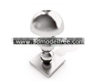 Crystal balls superimposed lamp