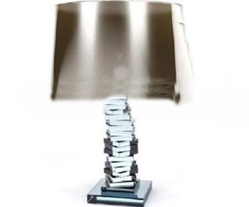 Irregular crystal lamppost lamp