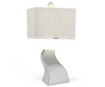 Pure bending square lamp