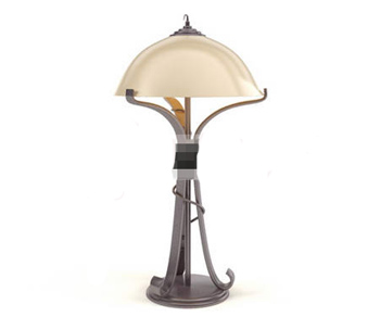 Personalized Wrought Iron lamp
