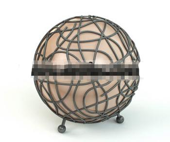 Globe model floor lamp