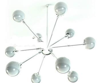 Ball-type radiation pendant lamp