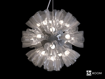 Modern stylish shape chandelier