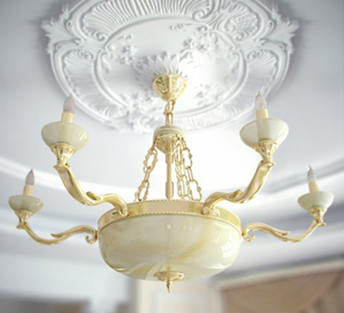 European-style living room chandelier
