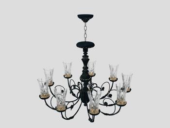 European-style crystal chandelier