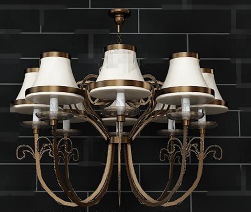 Combination of eight lights pendant