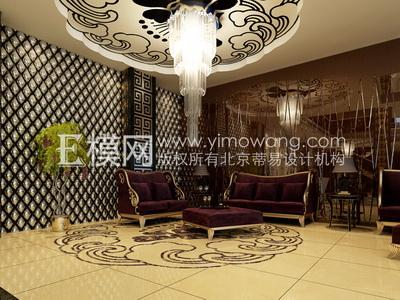 European-style hotel sitting area