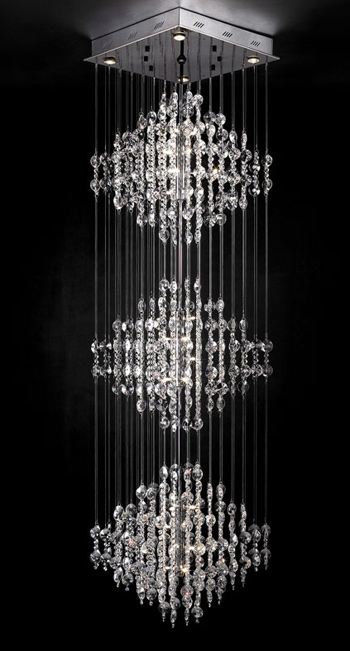 European ultra-modern crystal chandelier
