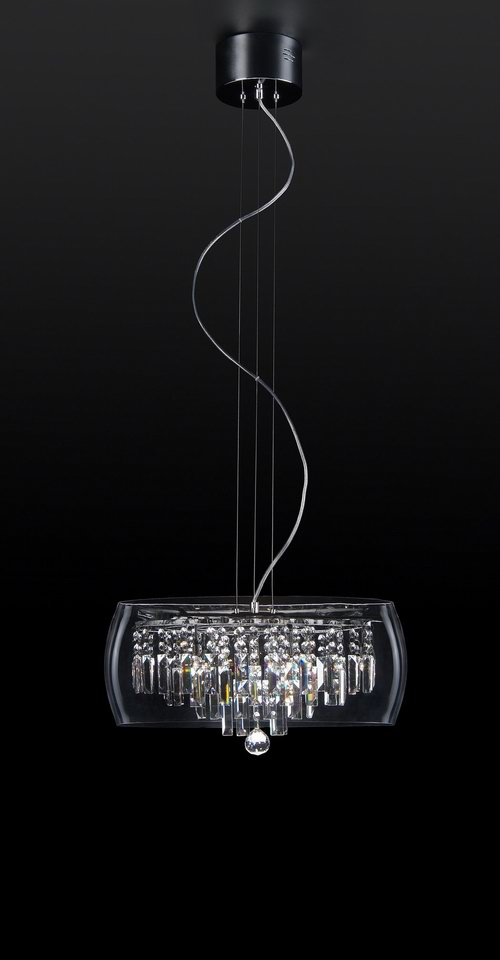 Supermodern crystal chandelier