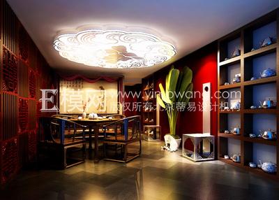 Chinese tea room 3d models