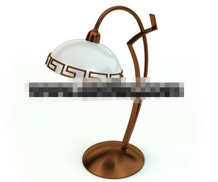 Retro simple metal lamp