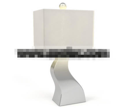Pure bending square lamp