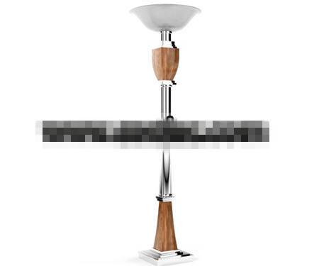 European style tray floor lamp