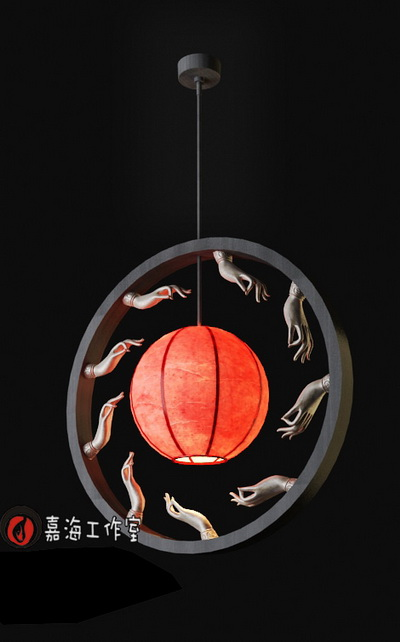 Chinese style pendant lamp-8