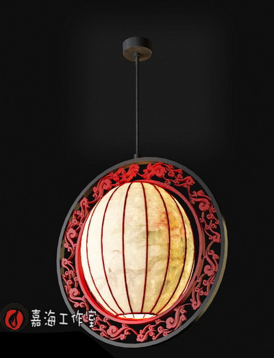 Chinese style pendant lamp-7
