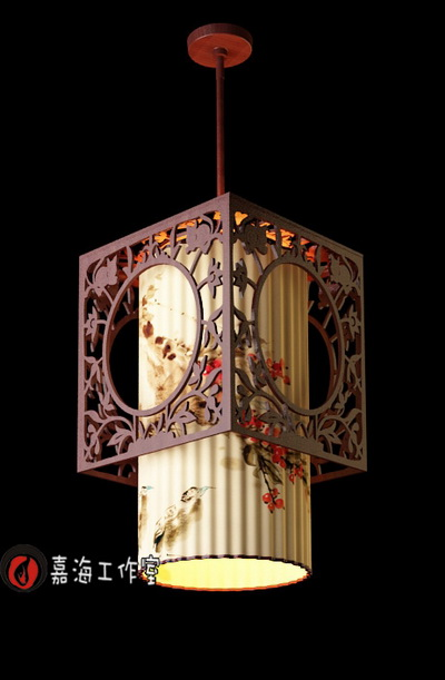 Chinese style pendant lamp-6