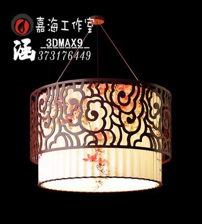 Chinese style pendant lamp-5