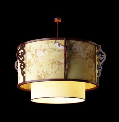 Chinese style pendant lamp-4