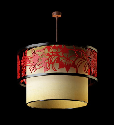 Chinese style pendant lamp-1