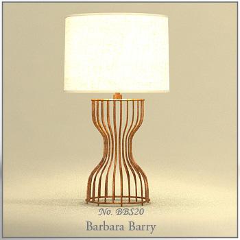Elegant European-style rattan table lamp personality