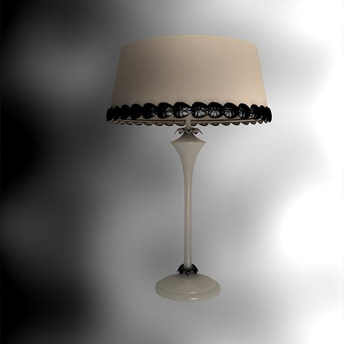 Chinese furniture, lamp shade falling