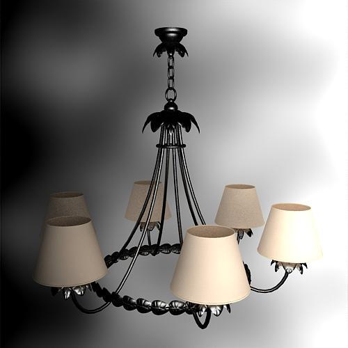 Elegant European style castle chandelier