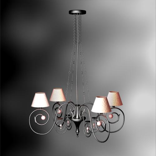 Elegant European-style castle chandelier temperament