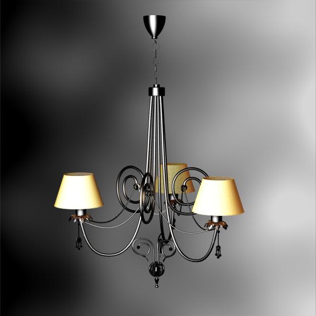 European-style castle chandelier chains