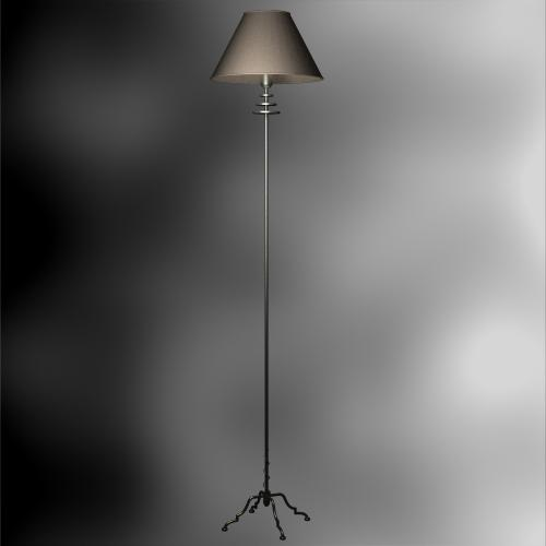 Single-pole floor lamp retro Chinese