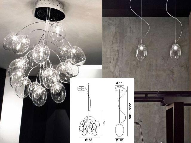European crystal chandeliers creative personality
