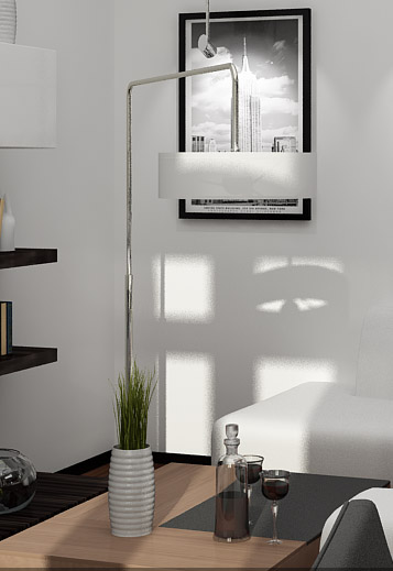 Single European Art Floor Lamp