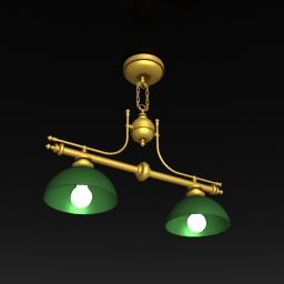 Billiards special droplight 3D models