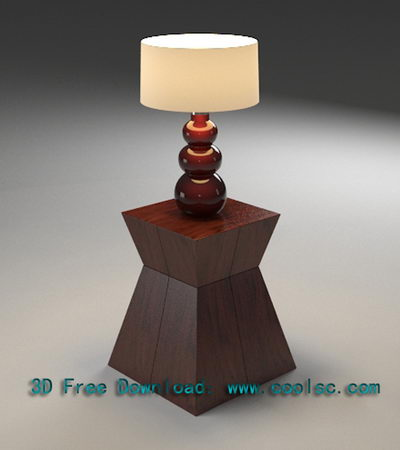 European Art Table Lamp
