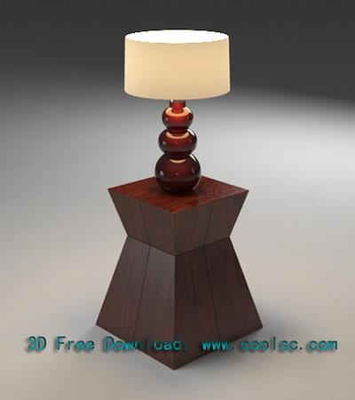 European Art Table Lamp