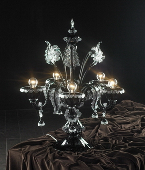 Crystal table lamp Model 07