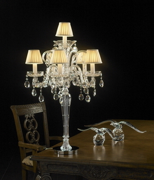 Crystal table lamp Model01