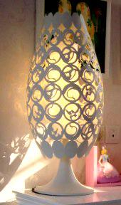 Art Table Lamp Model 1