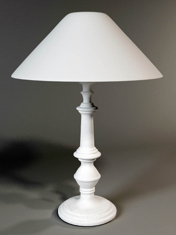 Table lamp and lamp lamp-post model of a