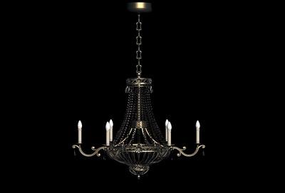 Pendant Lamp Model: European Style Wrought Iron Pendant Lamp
