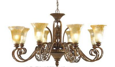 Luxury Cuboid Crystal Pendant Lamp