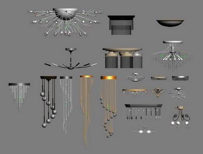 All kinds of lanterns model